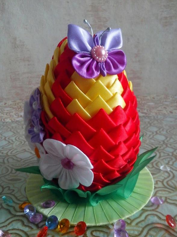 Подставка для пасхального яйца: вариант 1