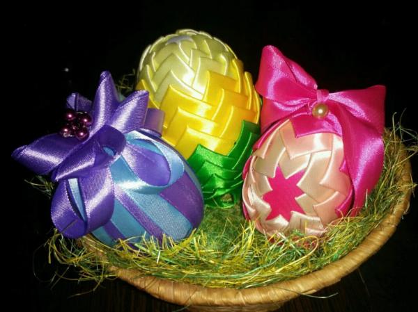 Подставка для пасхального яйца: вариант 8
