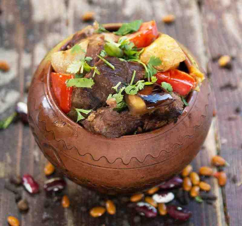 Чанахи в горшочках по-грузински - аппетитное кушанье с насыщенным вкусом и волшебным ароматом