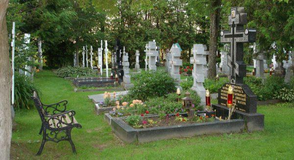 Посещение кладбища