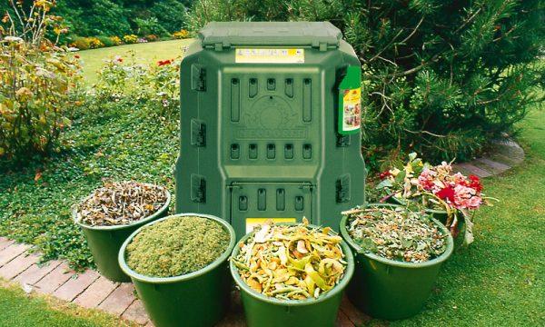 Отходы для компостной ямы