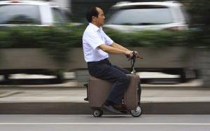 китаец на чемодане