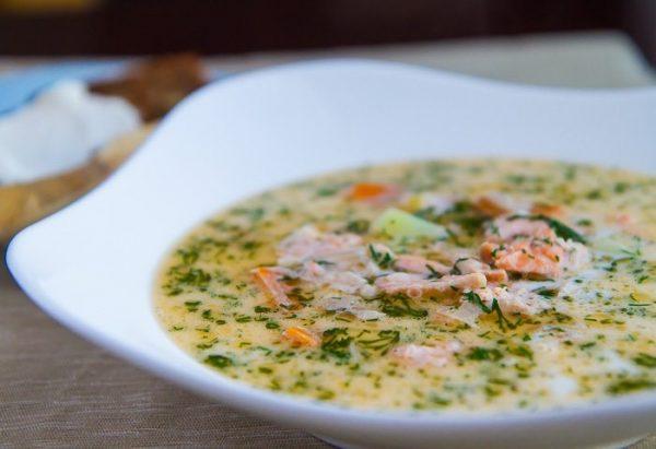 Рыбный суп по-фински