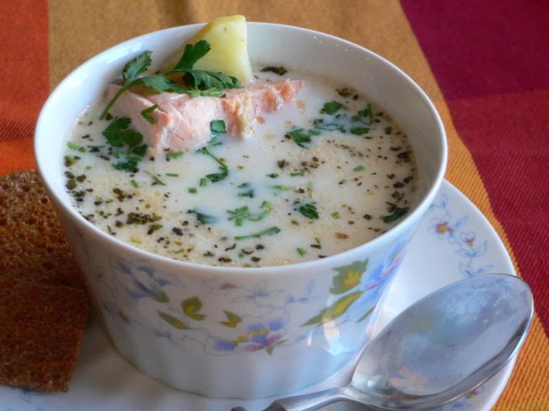Рыбный суп из горбуши - 40 рецептов