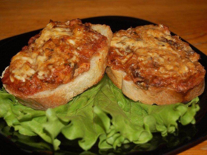 Горячие бутерброды, приготовленные на сковороде