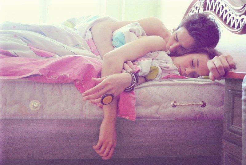 Сон в паре