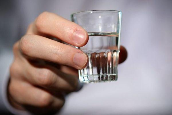 Стопка водки