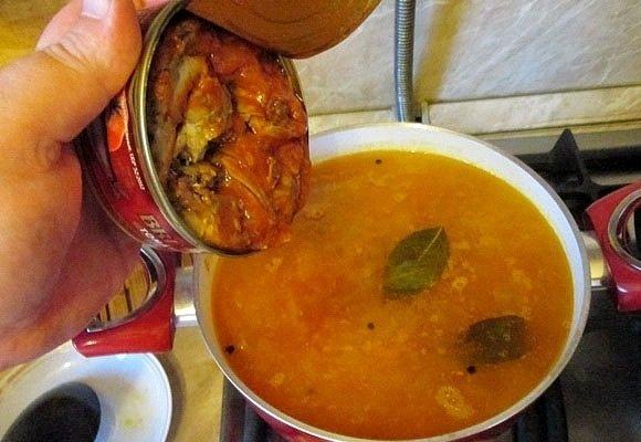 Килька в супе