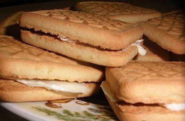 Печенье со сливочным маслом