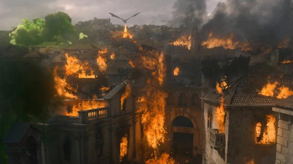 Сожжение Королевской гавани