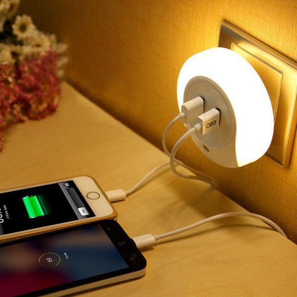 Зарядка телефона ночью