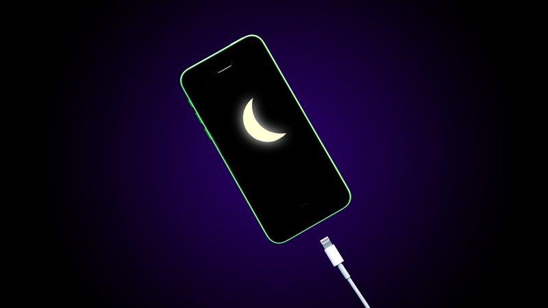 Ночная зарядка телефона