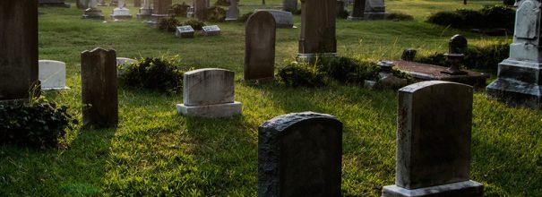 красивое кладбище