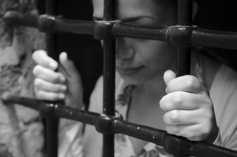 Девушка в тюрьме