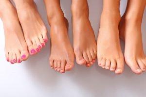 красивые пальцы ног