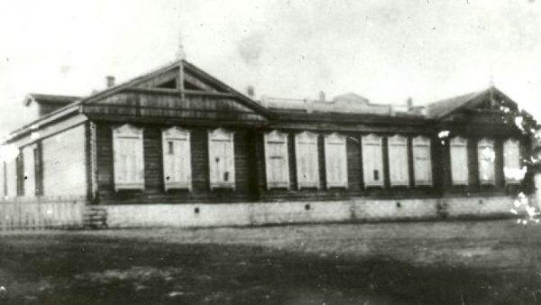 Школа в Эльбарусово