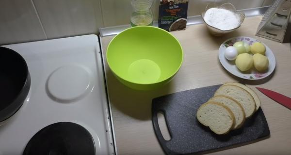 Как приготовить бутерброд с картошкой: продукты