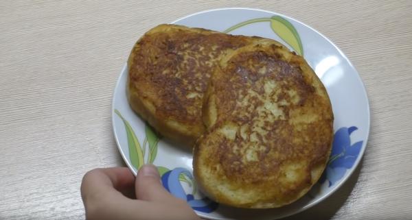 Как приготовить бутерброд с картошкой: этап 5