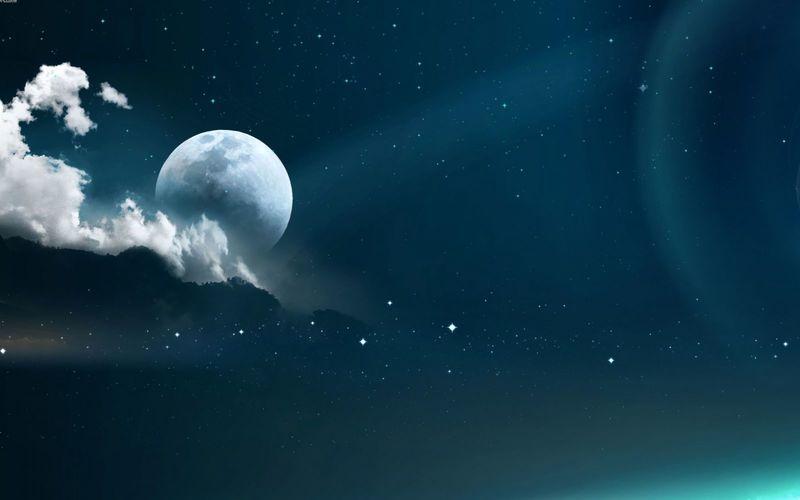 Смотреть на луну