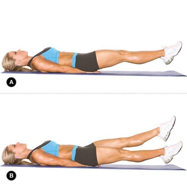 упражнения для похудения икр ног и ляшек