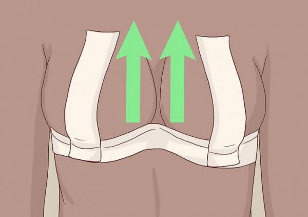Подтяжка груди скотчем