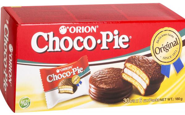 Пирожные Choco Pie