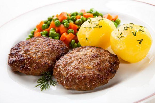 Котлеты с картофелем