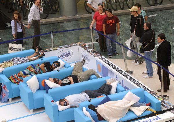 Чемпионат по сну в Испании