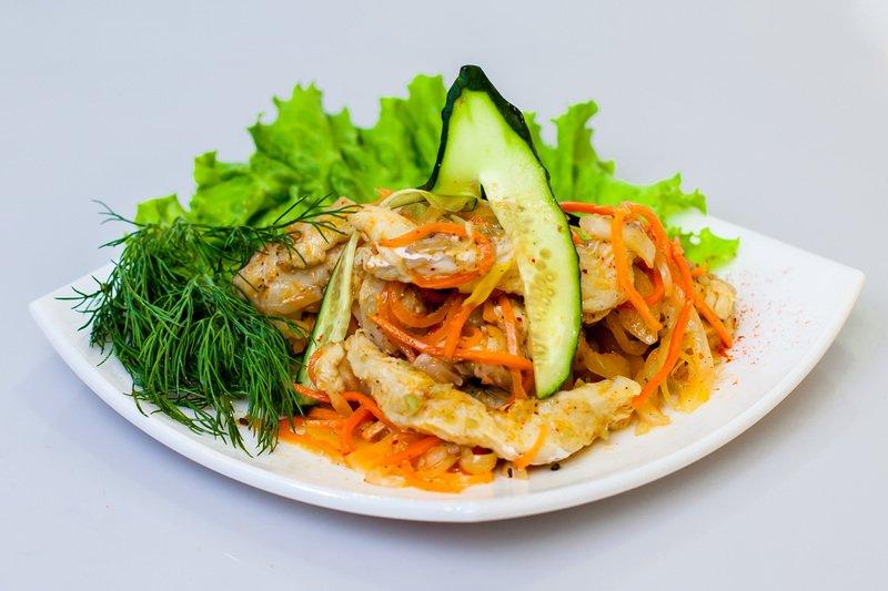 Хе из курицы по рецепту корейских мастеров - потрясающе ароматная и незабываемо вкусная закуска