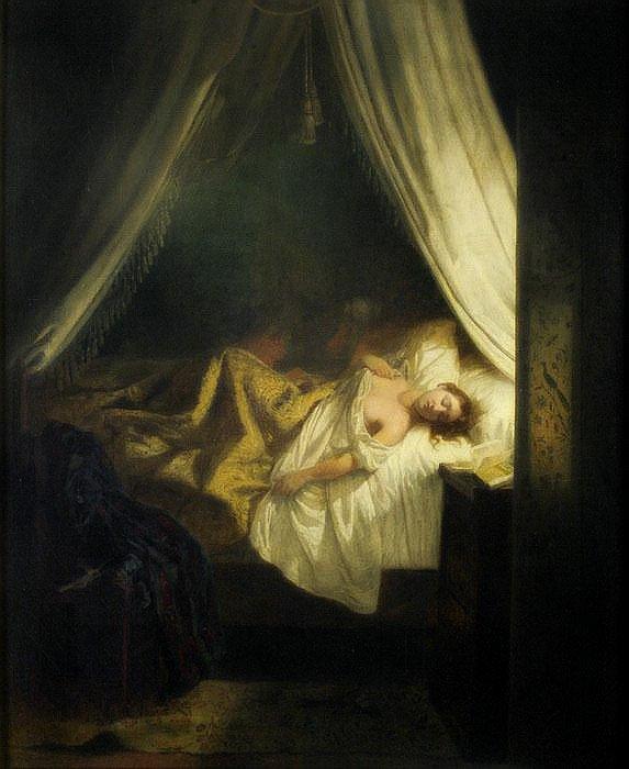 Eugène Delacroix - «Вампир»