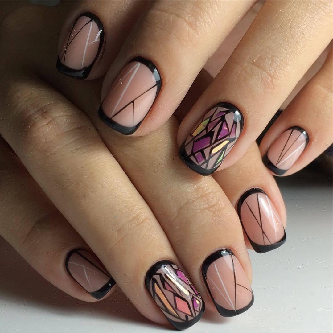 дизайн ногтей фото новинки на коротких ногтях общаковая баня