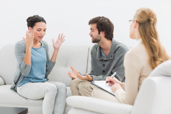 Сеанс у психолога