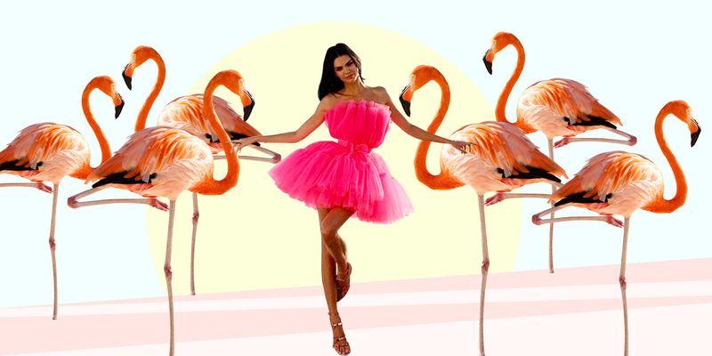 поза фламинго
