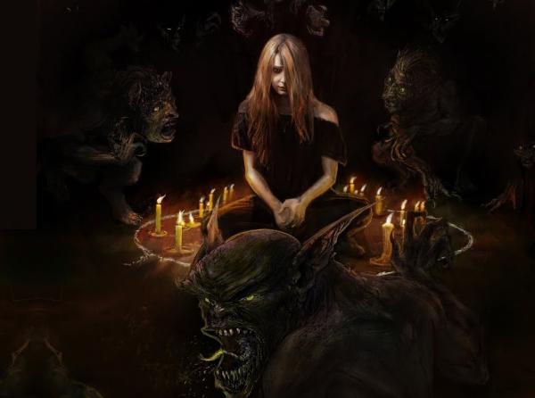 девушка и демоны
