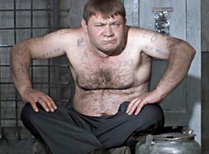 Евгений Леонов в роли рецидивиста Доцента