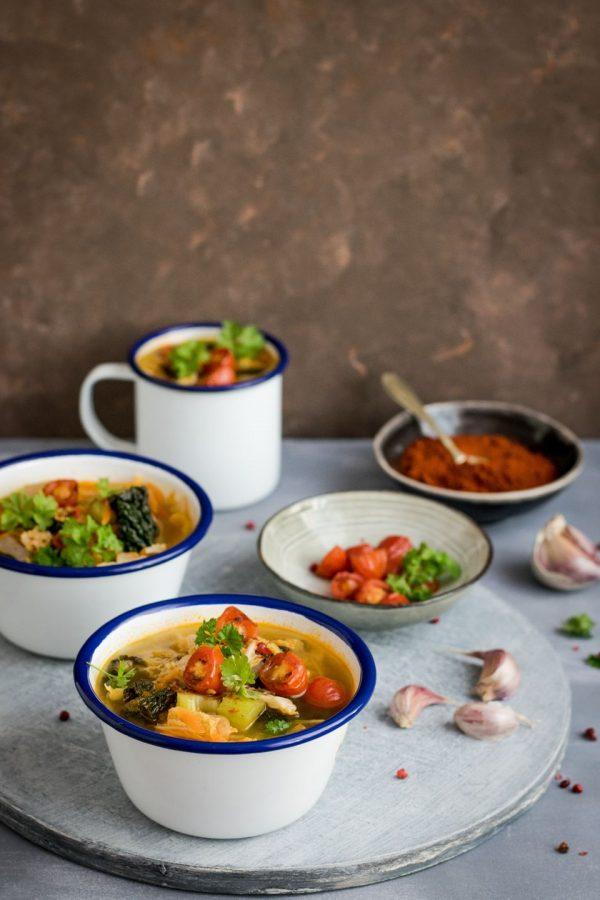 Посуда с супом