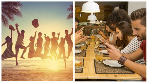Отдых с друзьями в Инстаграм и реальной жизни