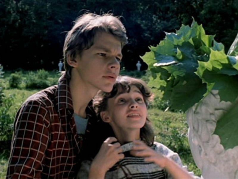 кадр из советского фильма