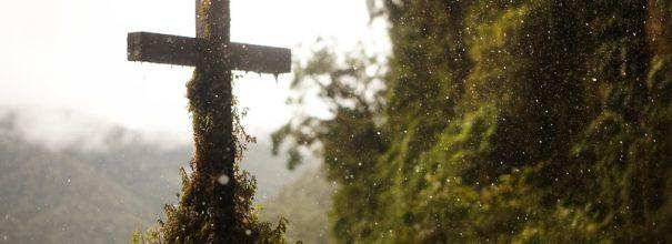 крест у дороги
