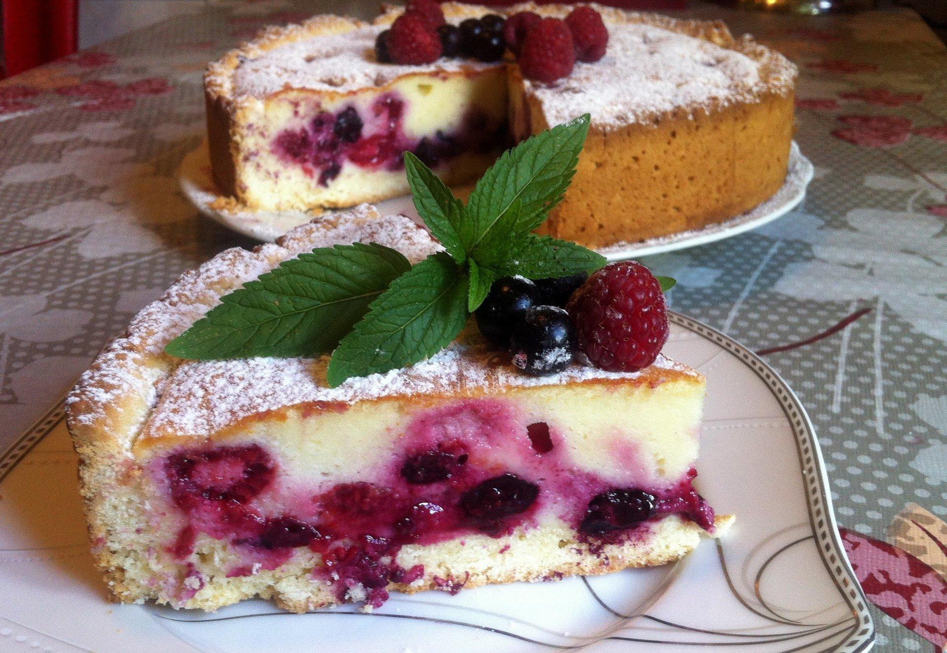 предлагаем вам рецепт ягодного пирога с фото всегда выбираете