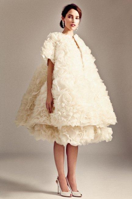 Слишком объёмное свадебное платье