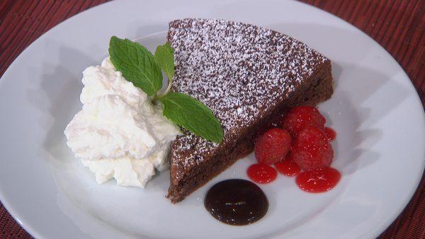 Торт «Капрезе»