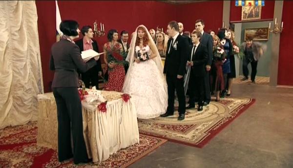 Гена врывается на свадьбу