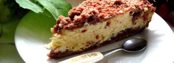 Торфяной пирог с творогом