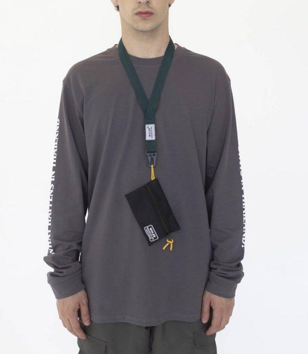 мужской кошелёк на шею