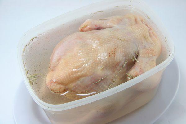 Курица в рассоле