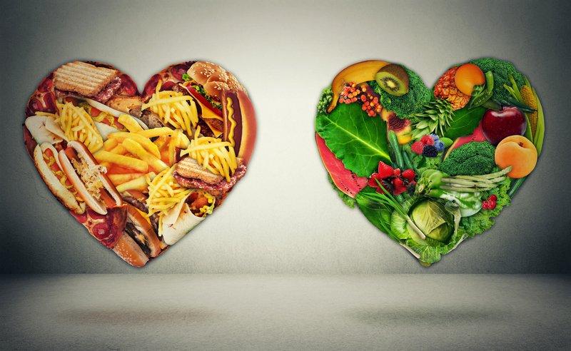 сердца из продуктов