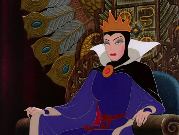 Злая королева из «Белоснежки»