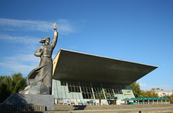 Кинотеатр «Аврора» в Краснодаре
