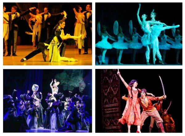 Спектакли в театре балета Юрия Григоровича